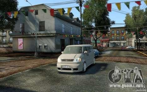 Volkswagen Transporter T4 para GTA 4 vista hacia atrás