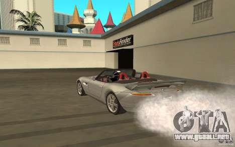 BMW Z8 para la visión correcta GTA San Andreas