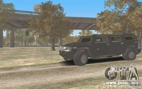 Hummer H2 Stock para GTA San Andreas left