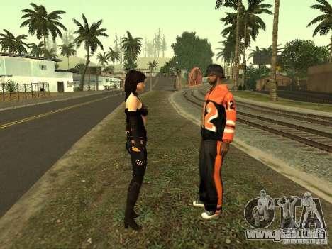 Girls from ME 3 para GTA San Andreas novena de pantalla