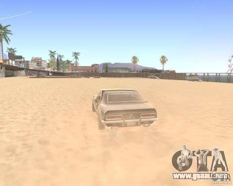 ENBSeries By Krivaseef para GTA San Andreas sucesivamente de pantalla