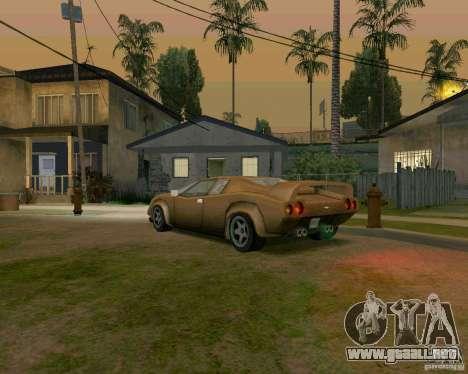 Infernus from Vice City para la visión correcta GTA San Andreas
