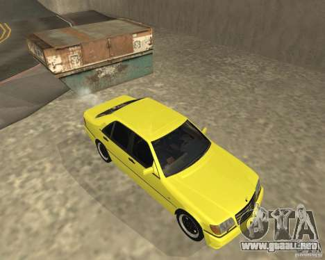 Mercedes Benz 600SEL AMG V140 para la visión correcta GTA San Andreas
