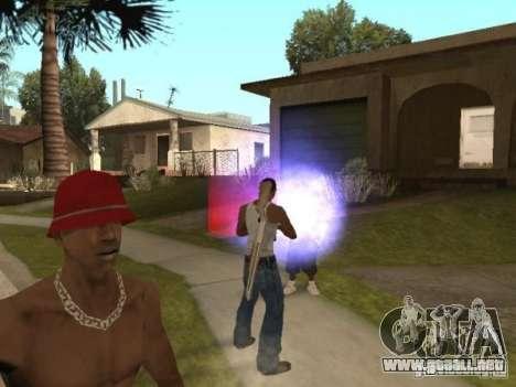 Raid para GTA San Andreas sucesivamente de pantalla
