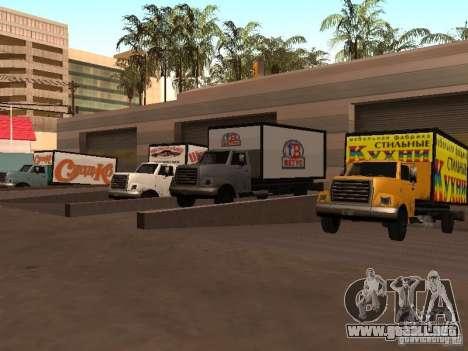 Yankee RUS para GTA San Andreas vista hacia atrás