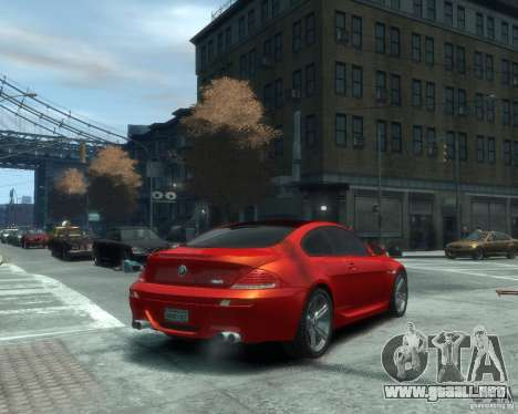 BMW M6 2010 v1.1 para GTA 4 visión correcta