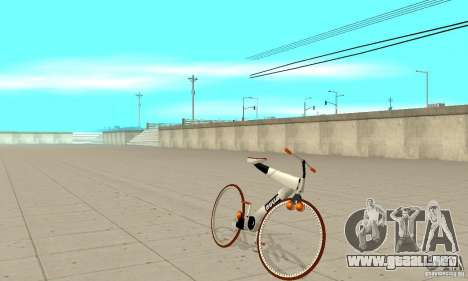 Nulla 2009 Mt Bike para GTA San Andreas left