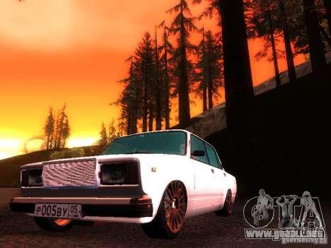 VAZ 2107 Lambo para GTA San Andreas left