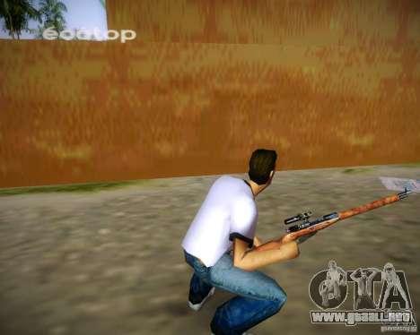 Mosin-Nagant para GTA Vice City sucesivamente de pantalla
