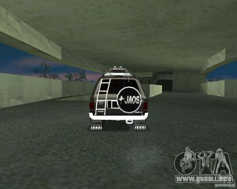 Toyota Surf v2.1 para GTA San Andreas left