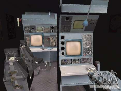 AC-130 Spooky II para visión interna GTA San Andreas
