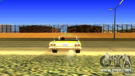 Crazy Taxi - B.D.Joe para GTA San Andreas vista hacia atrás