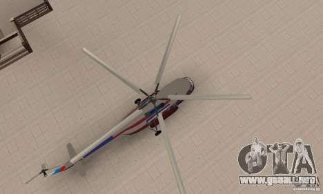 MI-17 civiles (Inglés) para la visión correcta GTA San Andreas
