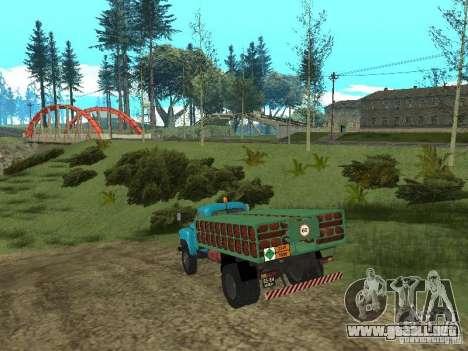 GAZ-53 ballonovoz para la visión correcta GTA San Andreas