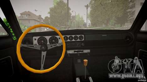 Lotus Cortina S 1963 para GTA 4 vista interior