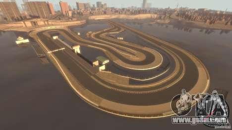 Pista de carreras para GTA 4 segundos de pantalla
