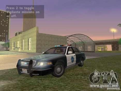LowEND PCs ENB Config para GTA San Andreas sucesivamente de pantalla