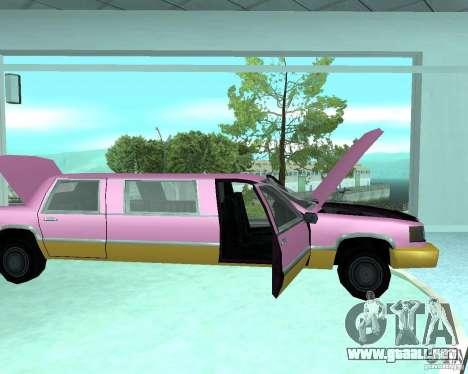 Nuevas máquinas de colores para GTA San Andreas segunda pantalla