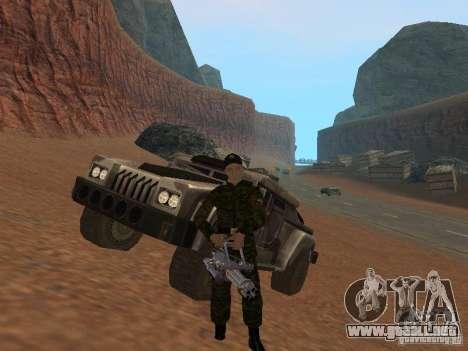 Soldados del ejército ruso para GTA San Andreas sexta pantalla
