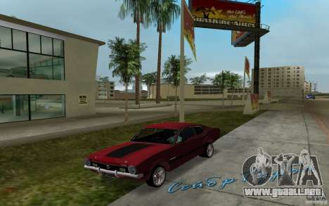 Ford Maverick GT 1975 para GTA Vice City left