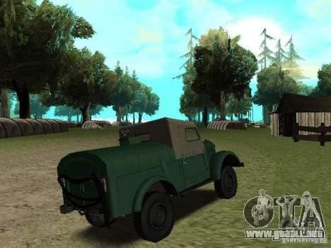 GAZ 69 APA 12 para la visión correcta GTA San Andreas
