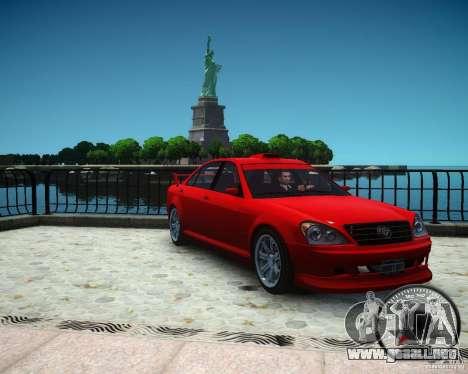 Schafter RS para GTA 4 visión correcta