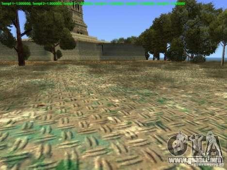 Estatua de la libertad de 2013 para GTA San Andreas sucesivamente de pantalla