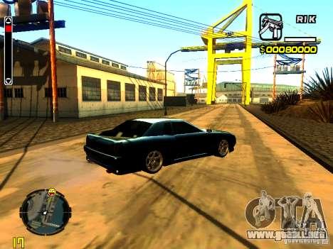 New Elegy v1 para la visión correcta GTA San Andreas