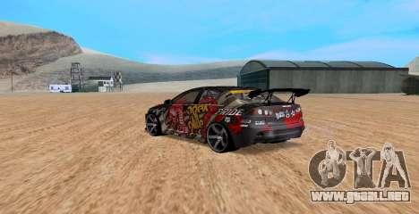 Mitsubishi Lancer Evolution RYO Vatanabe para GTA San Andreas left