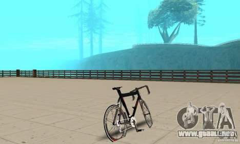 Bike Turmac Legnano para GTA San Andreas left