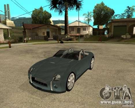 Ford Cobra Concept para GTA San Andreas