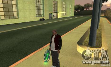 GraviPuška para GTA San Andreas segunda pantalla