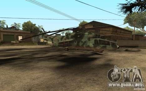 MI-24A para GTA San Andreas left