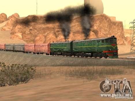 Te3 para GTA San Andreas vista hacia atrás