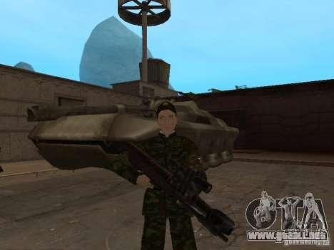 Soldados del ejército ruso para GTA San Andreas quinta pantalla