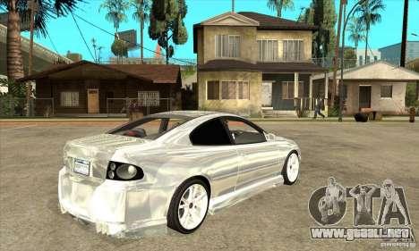 Holden Monaro CV8-R Tuned para la visión correcta GTA San Andreas