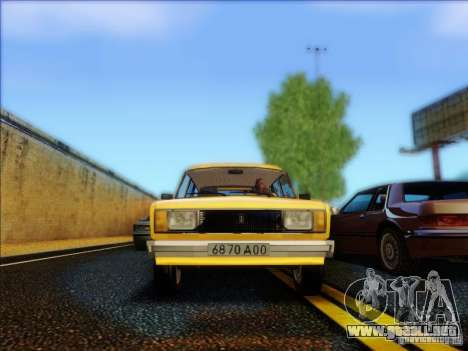 VAZ 2104 Taxi para visión interna GTA San Andreas