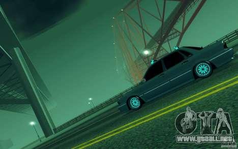 Mitsubishi Galant para GTA San Andreas vista posterior izquierda
