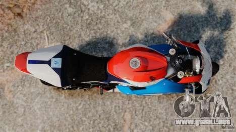 Honda CBR 600RR para GTA 4 visión correcta