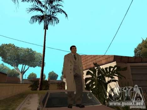 Joe Barbaro de Mafia 2 para GTA San Andreas segunda pantalla