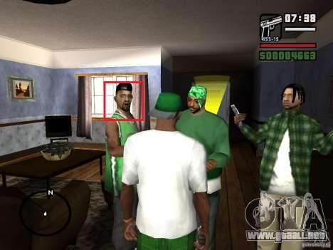 Arreglar animaciones faciales para GTA San Andreas