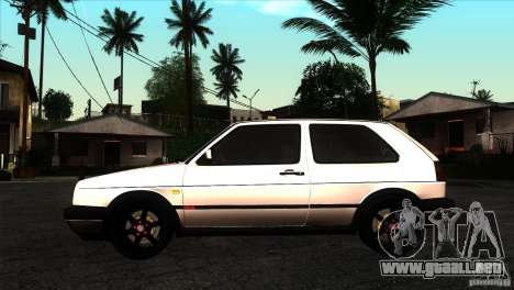 VW Golf 2 para GTA San Andreas left