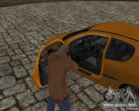 Peugeot 306 para vista lateral GTA San Andreas