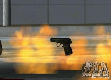Pak domésticos armas versión 6 para GTA San Andreas sucesivamente de pantalla