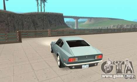 Aston Martin V8 para GTA San Andreas left