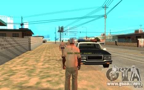 El soborno para GTA San Andreas sucesivamente de pantalla
