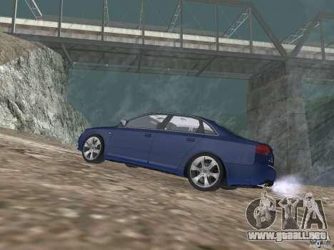 Audi S6 para GTA San Andreas left