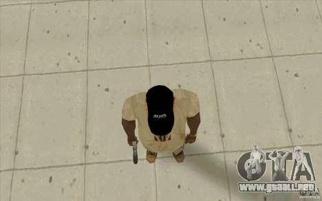 Jefe tapa negra para GTA San Andreas tercera pantalla
