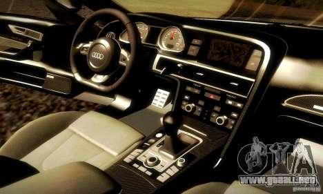 Audi RS6 TT para la vista superior GTA San Andreas