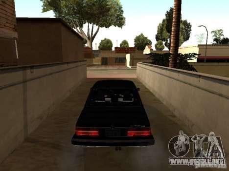 BMW 535is E28 para la visión correcta GTA San Andreas